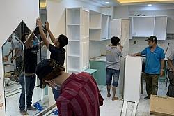 Thi công hoàn thiện thô và nội thất trọn gói căn hộ C1603 chung cư SaiGon South Nhà Bè